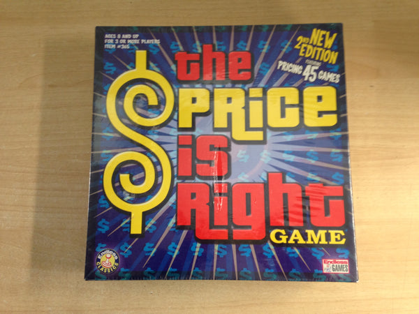 Y Game The Price Is Right 2nd Edition RARE NEW SEALED
