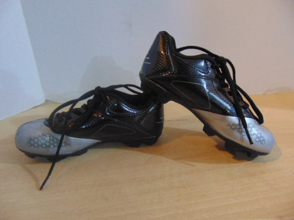 Soccer Shoes Cleats Child Size 12 Champion Black Grey