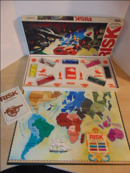 Game Risk Vintage 1975 Excellent Condition Complete RARE