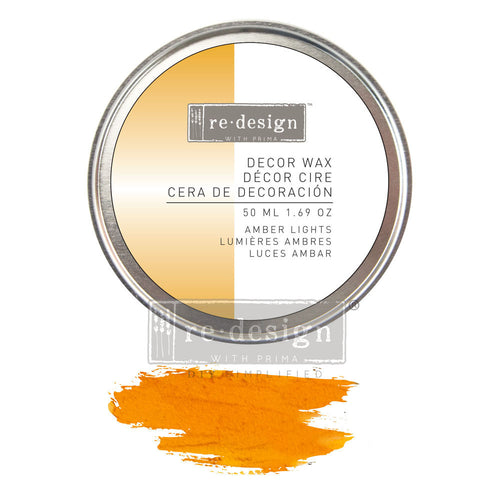 Redesign with Prima - Redesign Wax Paste - Amber Lights