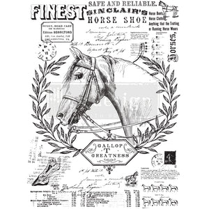 Redesign with Prima - Re.Design Decor Transfers - Fine Horsemen