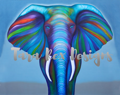 Elephant Giclee Art Print - Limited Edition