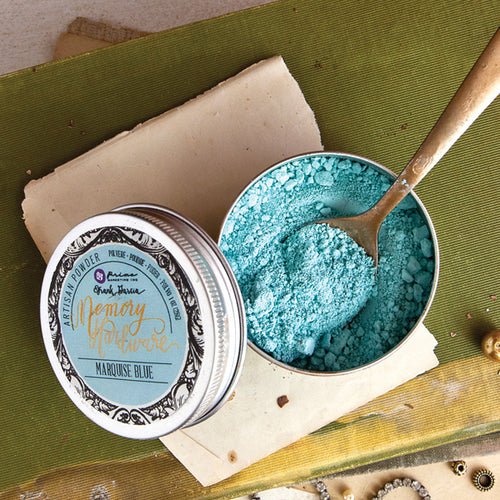 Redesign with Prima - Memory Hardware Artisan Powder - Marquise Blue