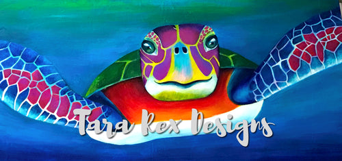 Turtle Giclee Print - Limited Edition