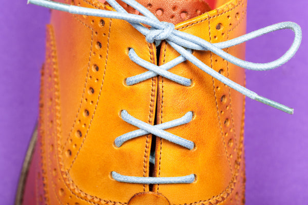 Luke Chalk Blue Colour Shoelaces & laces from Mavericks Laces Melbourne