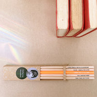 Katherine Mansfield Pencil Set