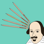 Shakespeare Pencil Set