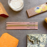 Cheese lovers pencil set I