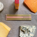 Cheese lovers pencil set II