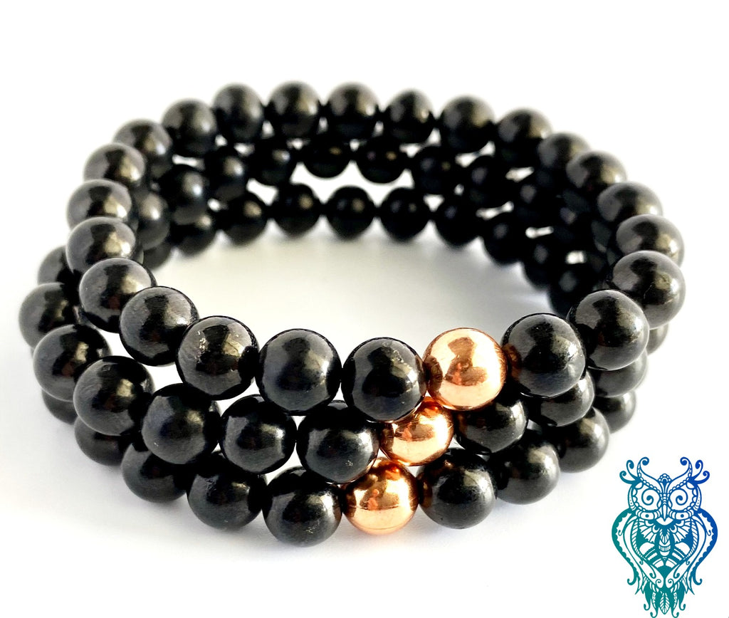 Black Tourmaline (Brazil) Protection Bracelet