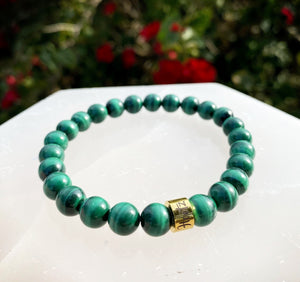 Malachite (South Africa) Chakra Clearing Bracelet
