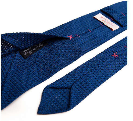Royal Blue Grenadine Tie