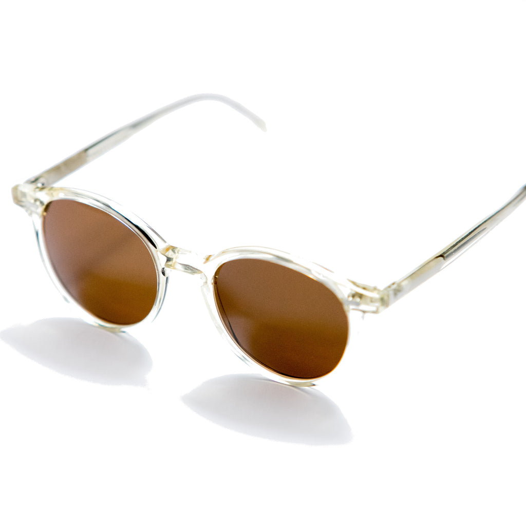 Monsieur Fox x TBD Eyewear Sunglasses - Champagne and Tobacco