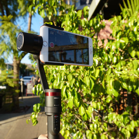 Give A Warm Welcome To MOZA Mini-C Smartphone Gimbal Stabilizer!