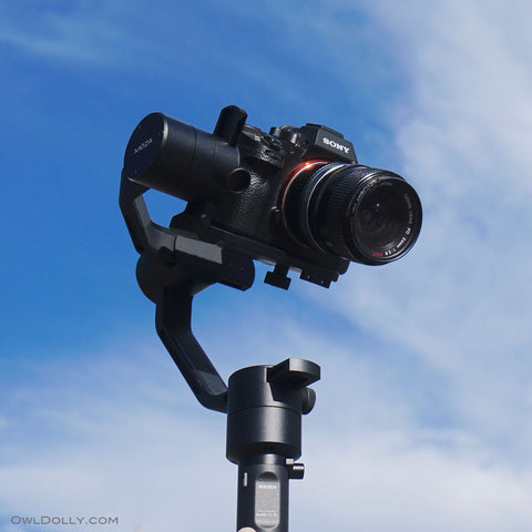 The Sky Is The Limit With MOZA Air Gimbal Stabilizer! – OwlDolly