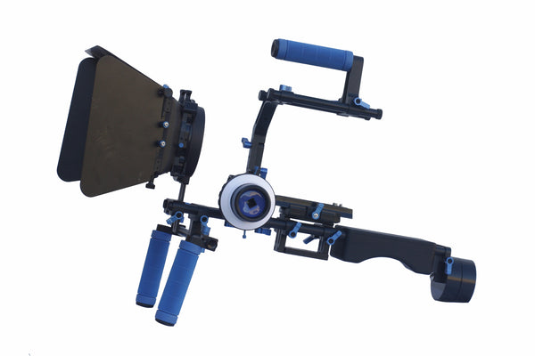 Shoulder Rig II with Single Support Handle and Counter Weight