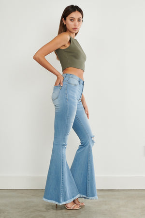Be Free Bell Bottom Jeans
