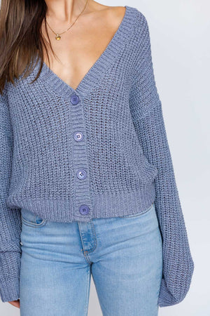 Dusty Blue Knit