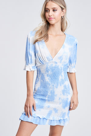 Serena Tie-Dye Mini Dress