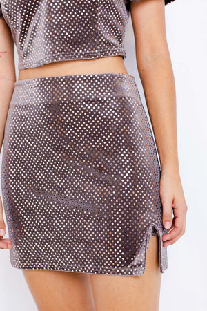 Meet Me At The Disco Skirt
