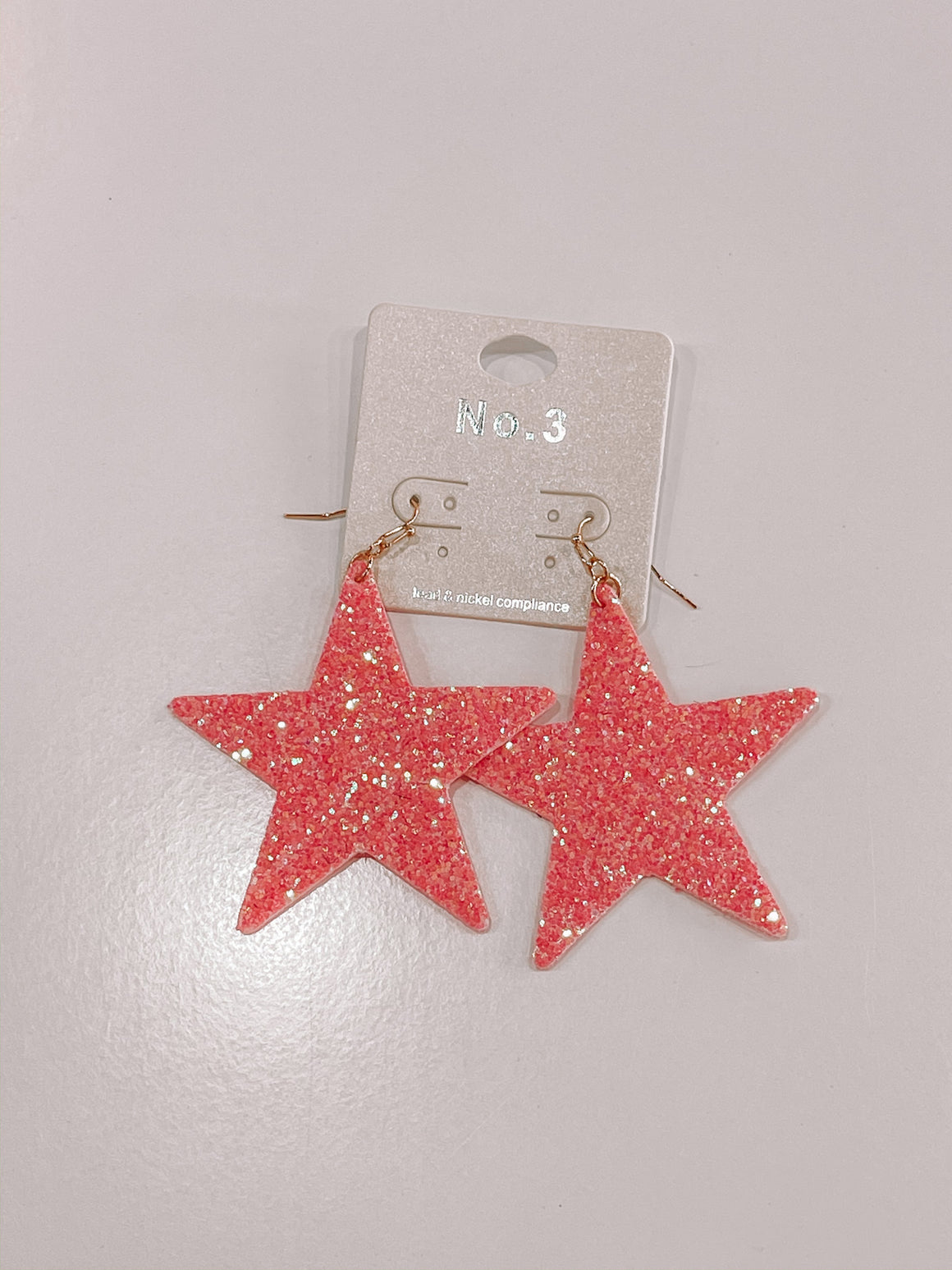 A Star Is Born Earrings - pink