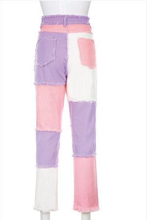Harper Patchwork Candy-land Denim