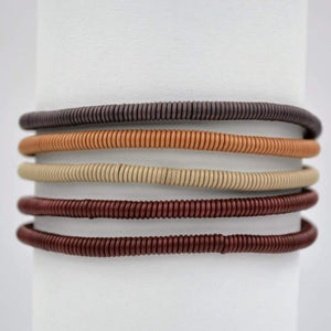 African Wire Bracelet - Burnt Clay - Accessories