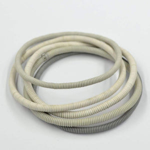 African Wire Bracelet - Off White Tones - Accessories