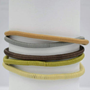 African Wire Bracelet - Stone - Accessories
