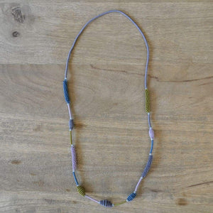 African Wire Necklace - Vintage - Accessories