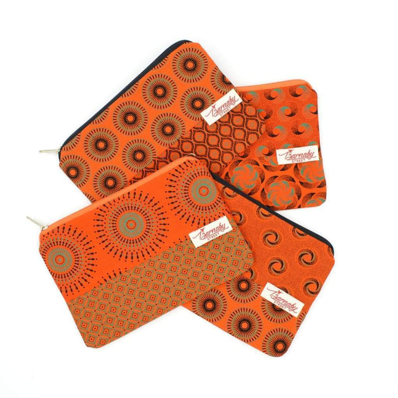 Barnaby Street Vanity Purse - Orange - Accessories