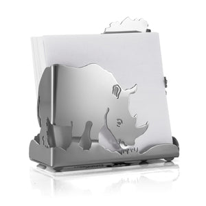 Carrol Boyes Note Paper Holder - Rhino - Carrol Boyes
