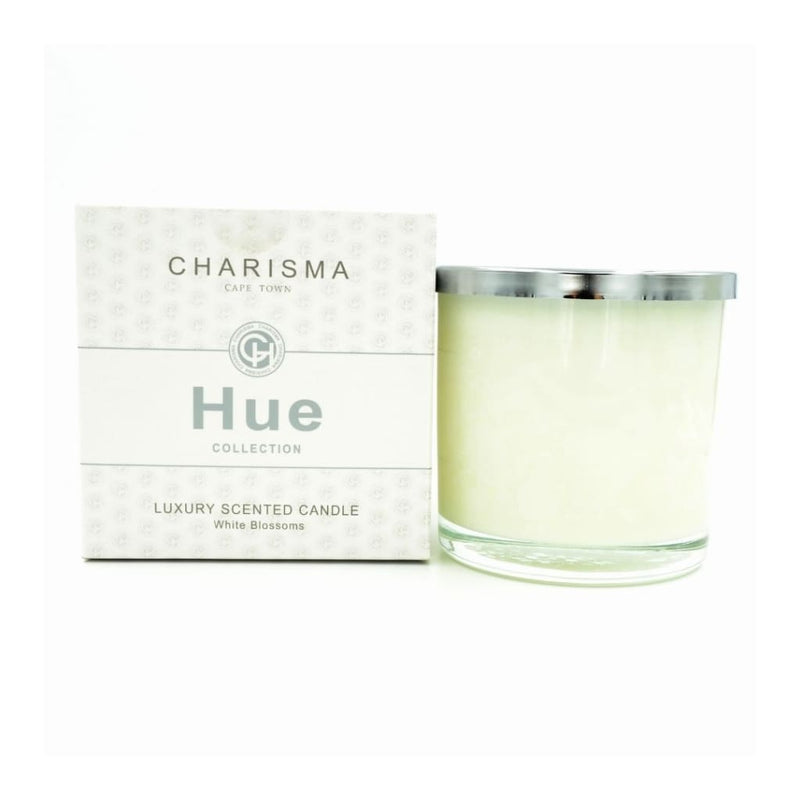 Charisma Hue Scented Candle White Blossoms - Gifting Ideas