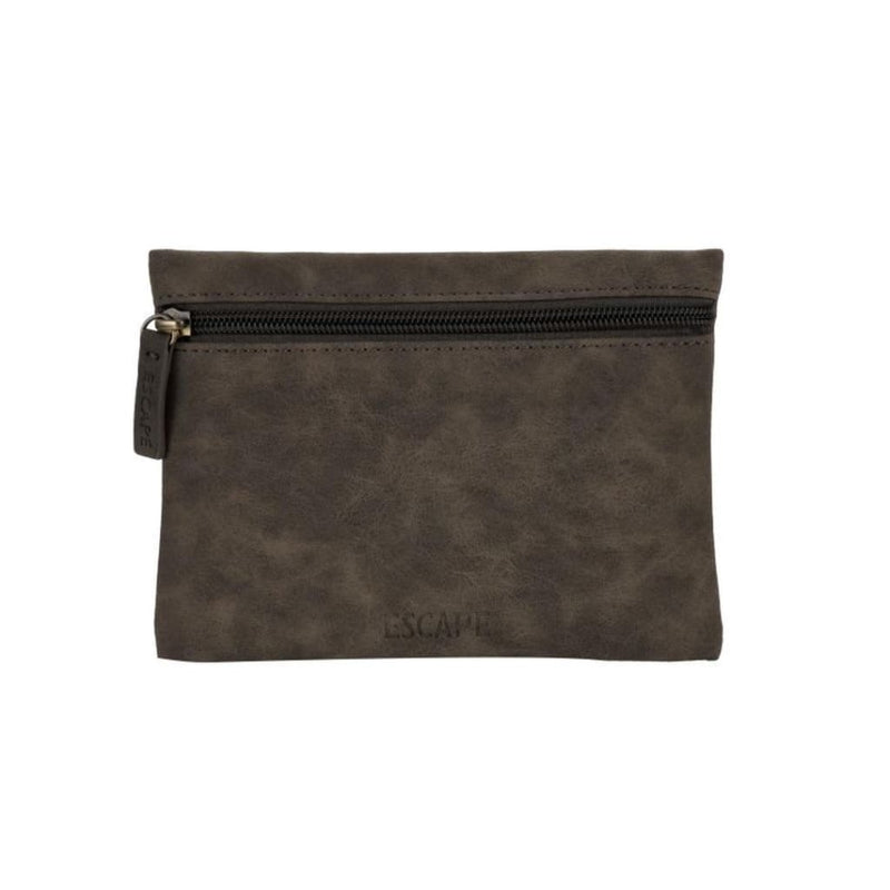 Coin Purse Imitation Leather - Grey - Accessories