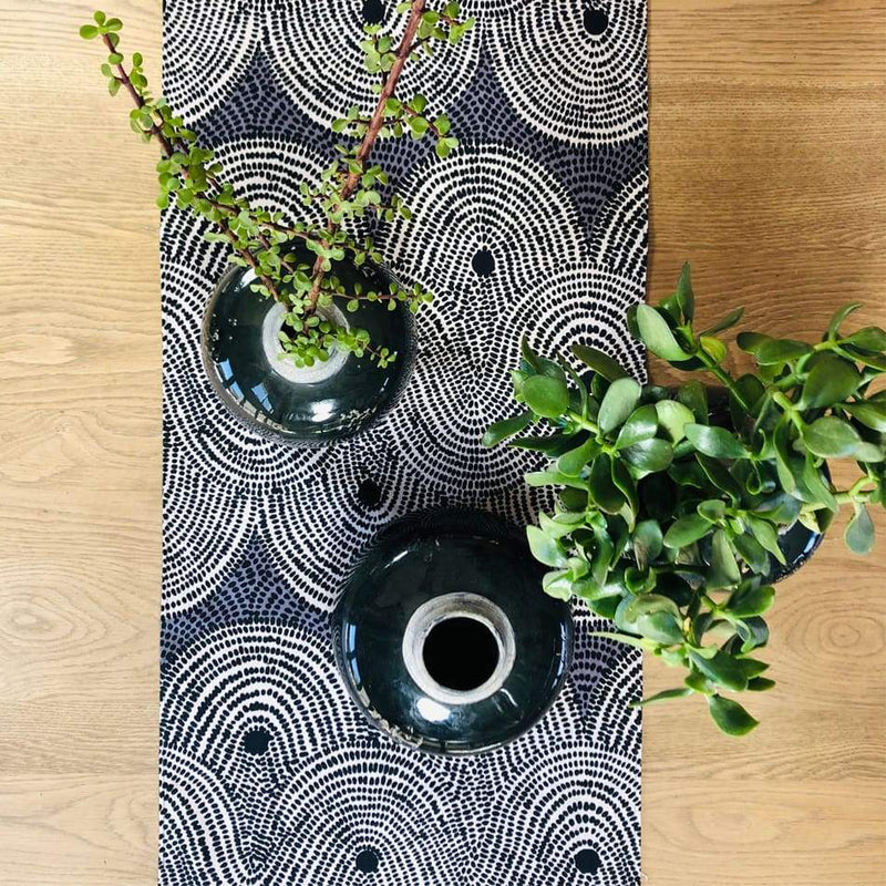 Design Team Table Runners Crop Field Grey - House & Home