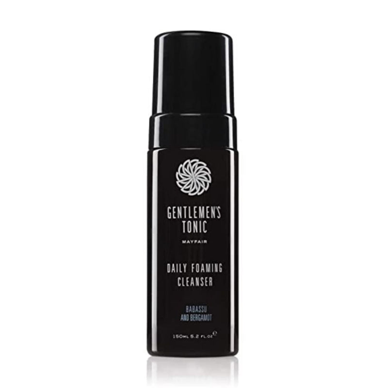 Gentlemen's Tonic Babassu & Bergamot Foaming Facial Cleanser - Gifting Ideas