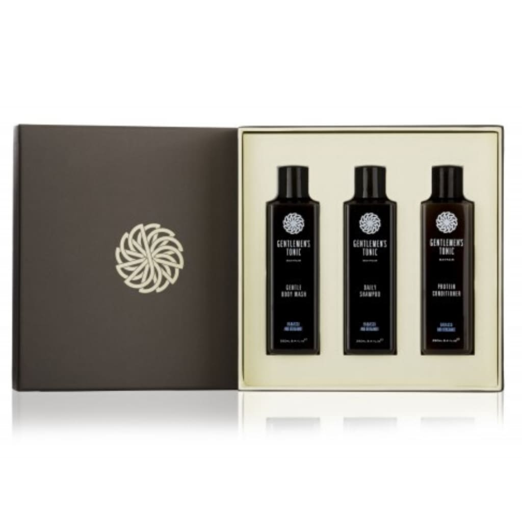 Gentlemen's Tonic Babassu & Bergamot Shower Gift Set - Gifting Ideas