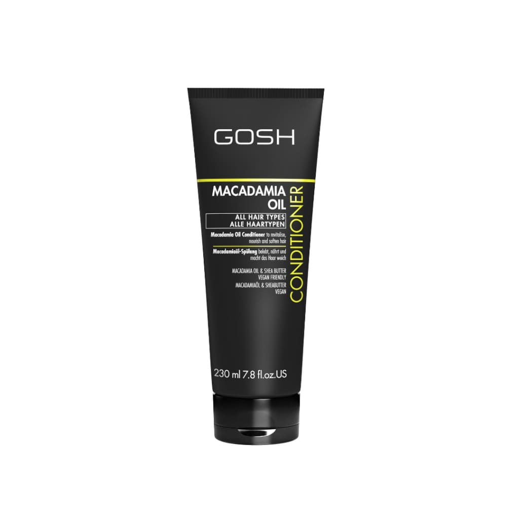 Gosh Macadamia Conditioner - 230ml - Bath and Body