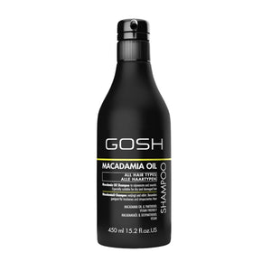 Gosh Macadamia Shampoo - 450ml - Bath and Body