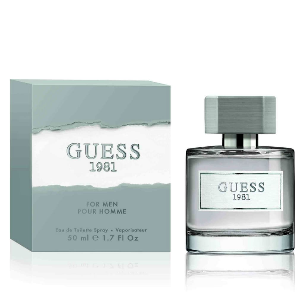 GUESS 1981 for Him EDT - Fragrance