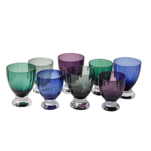 JENNA CLIFFORD - Water Glass - Blue Set of 4 - Jenna Clifford
