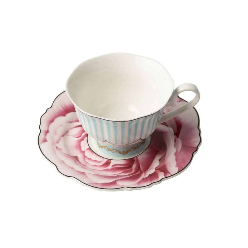 JENNA CLIFFORD - Wavy Rose Cup & Saucer - Jenna Clifford
