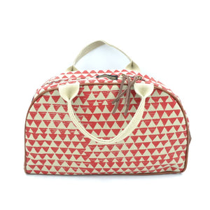 Ladies Toiletry Bag - Diamond Red - Accessories