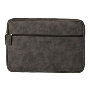 Laptop Sleeve 15 Inch Grey Imitation Leather - Accessories