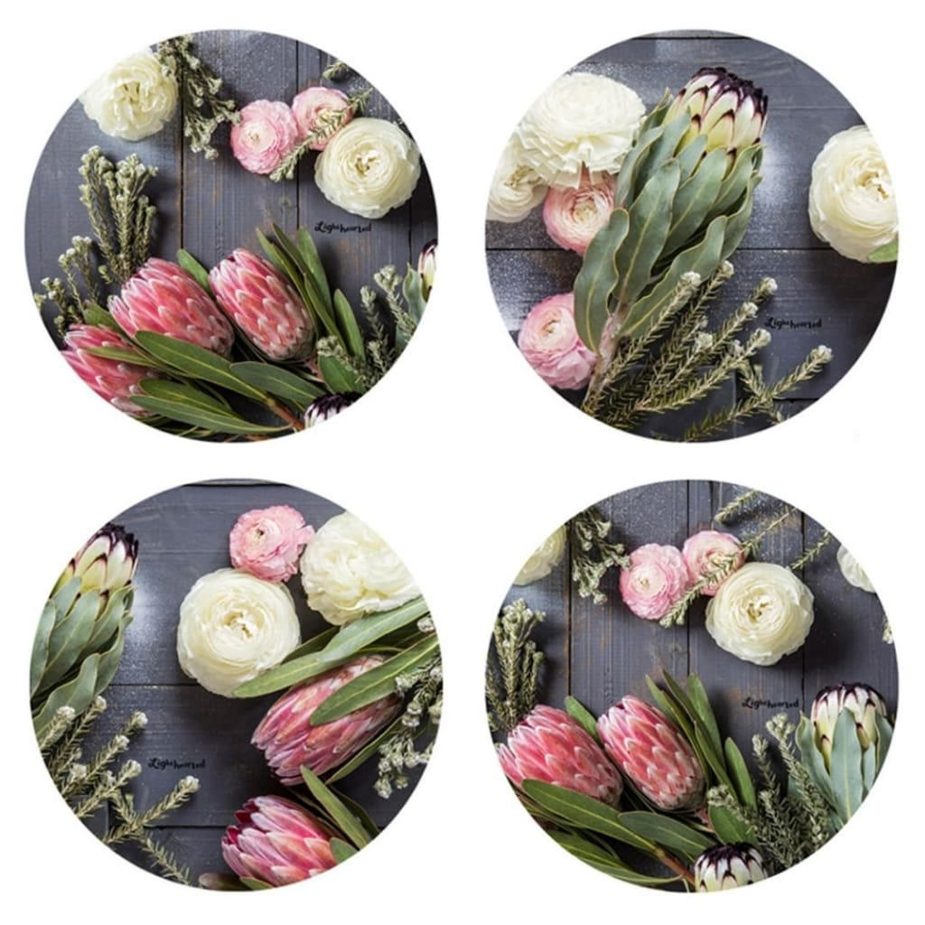 Lighthearted Coaster Set - Flora Glory - Gifting Ideas