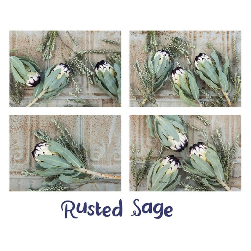 Lighthearted Placemat Set - Rustic Sage - Gifting Ideas