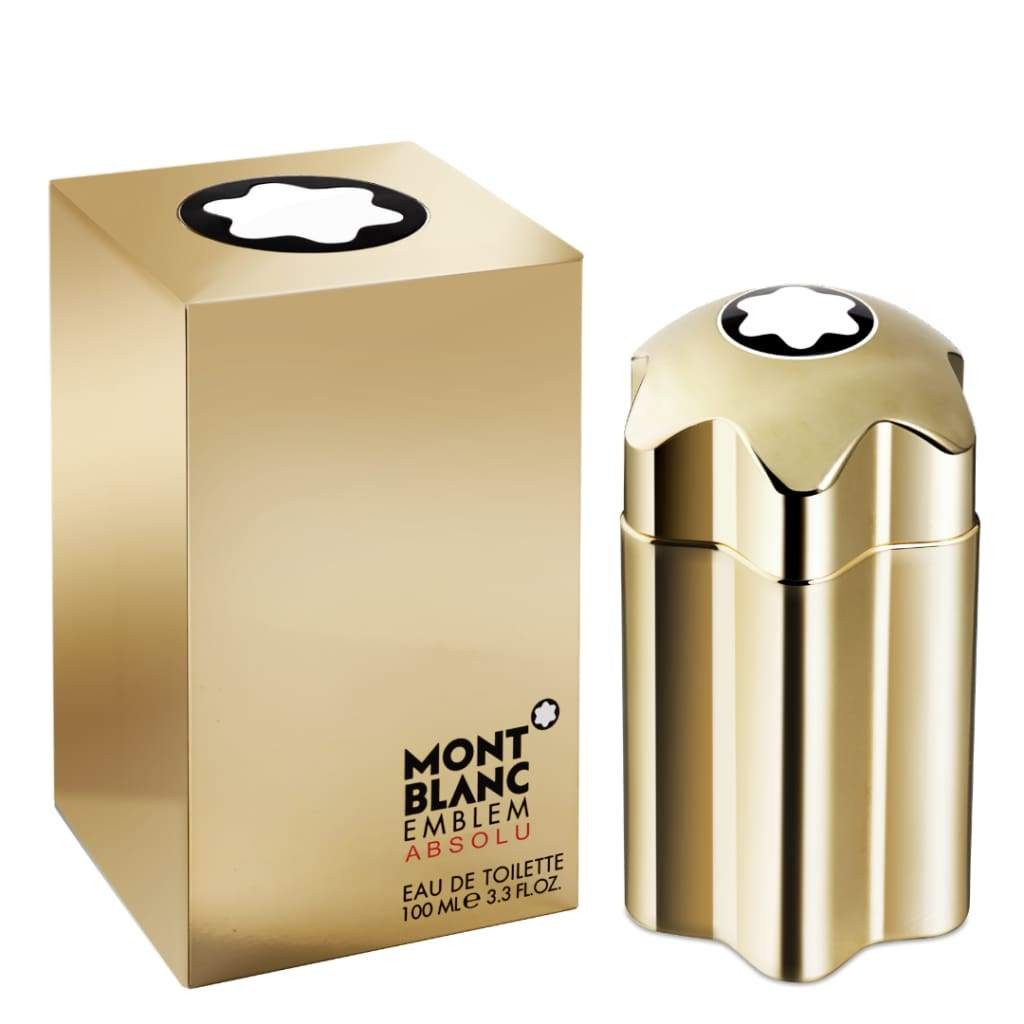 MontBlanc Emblem Gold Absolu Homme EDT Spray - 100ml - Fragrance