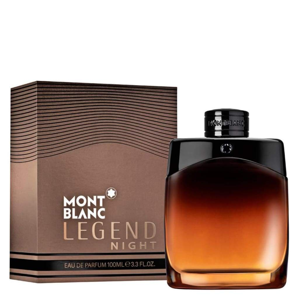 MontBlanc Legend Night Pour Homme EDT Spray - 100ml - Fragrance