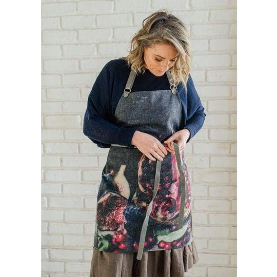Samesyn Aprons Pomegranate & Fresh Figs - Pomegranate & Fresh Figs - House & Home