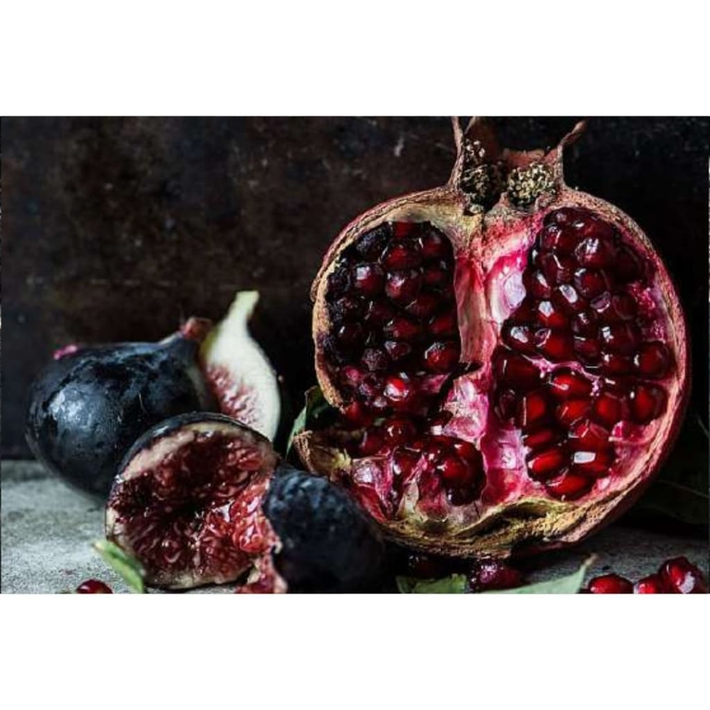 Samesyn Placemat Set - Pomegranate & Fig - House & Home